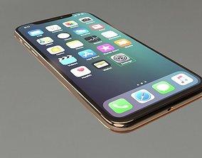 3D model Apple iPHONE X