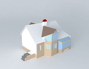 Winter garden 2 3D model