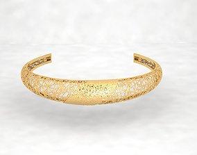 3D printable model Llightweight golden bracelet V3