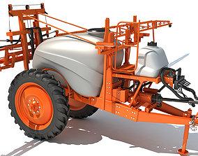 3D Trailed Farm Sprayer