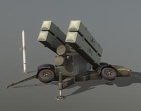 3D model Skyguard Launcher area defense system
