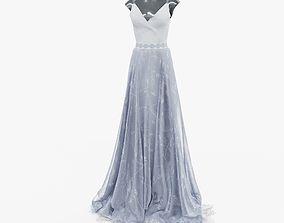 3D wedding gown