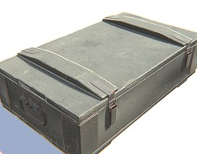 Ammo Box 3D model realtime PBR