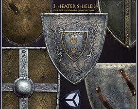 3D model 3 Heater Shields