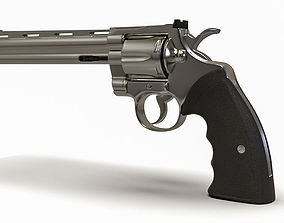 3D model Colt PYTHON Pistol Gun