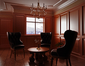 3D model Breakfast Room