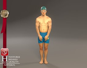 Swimmingpool Male ACC 3140 0001 3D model