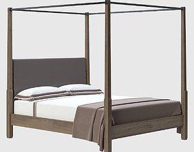 3D Holly Hunt Sorraia Bed