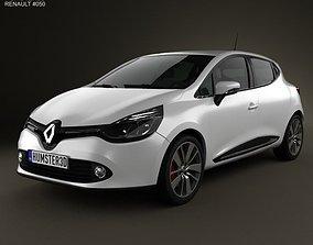 3D model Renault Clio IV 2013
