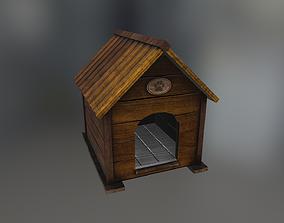 Doghouse 3D model VR / AR ready