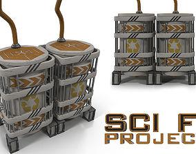 Sci fi Reservoir 3D