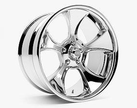 3D model American Racing VN474 Gasser Wheel