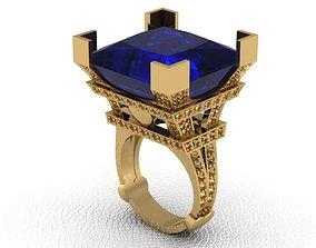 Ring Tower Paris stl 3D printable model