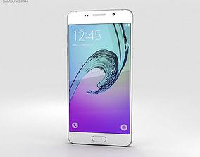 Samsung Galaxy A5 2016 White 3D