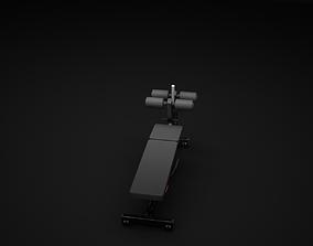 ABD Crunch 3D model