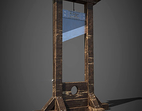 3D asset Guillotine french