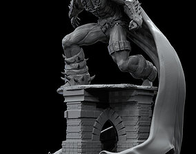 statue 3D printable model Spawn