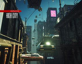 High City 3D model