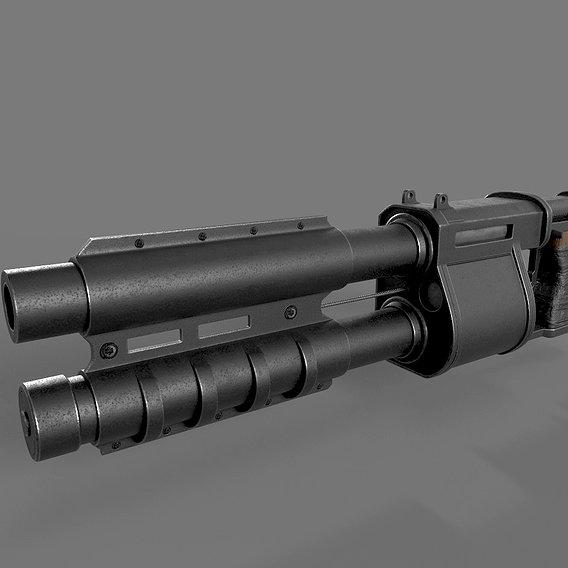 Shotgun meat grinder