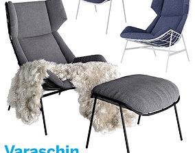 3D model Varaschin Outdoor Therapy Bergere relax summer 1