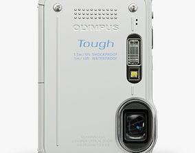 Olympus Stylus Tough TG-630 White 3D asset realtime