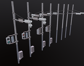 3D model realtime Traffic Light