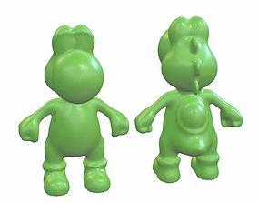 Yoshi 3D print cute