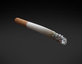 PBR Generic Cigarette Burning 3D asset
