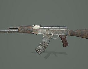 3D model rigged game-ready AK-47