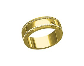 jewelry jewellery 3D printable model band ring