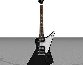 3D model Guitar - Gibson Explorer