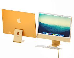 3D model iMac 24 - 2021