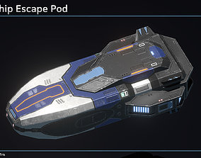 3D model Spaceship Escape Pod