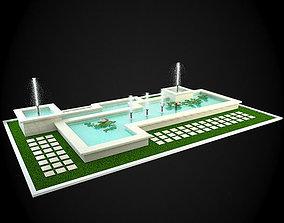 interior 3D Fountain