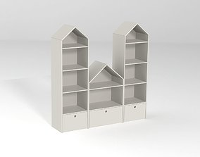 3D model Shelving house