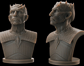 3D printable model Night King Bust 2- Game of Thrones
