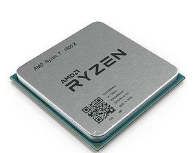 CPU Ryzen 3D model electronics