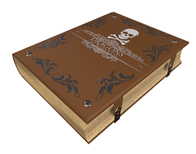 Book - PBR Game Ready 3D model
