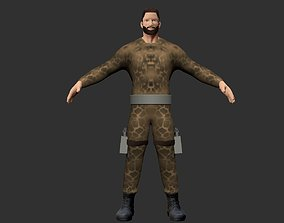 HUMAN ANATOMY system 3D model