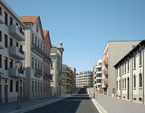 3D model Modern City Street