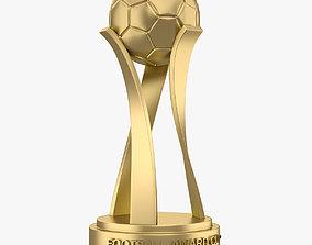 Football Award Cup 001 3D asset
