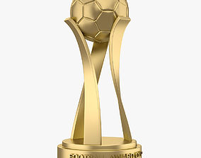 Football Award Cup 001 3D asset