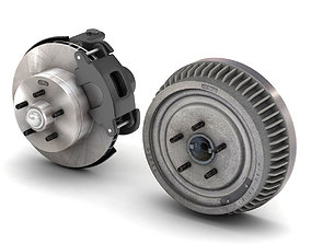 3D CAR AND TRUCK BRAKE SET