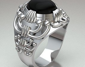 Ring Man 3D print model rings