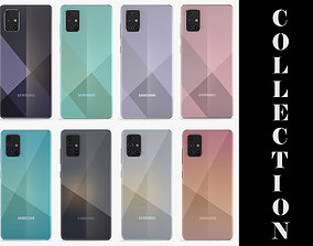 Samsung Galaxy A51 and A71 All Colors 3D