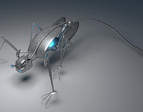 3D model Metallic crawler