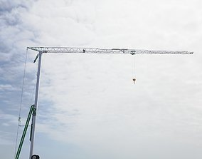Self Erecting Crane 2 - Construction Crane 3D model