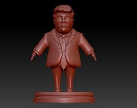 3D print model Donald Trump caricature