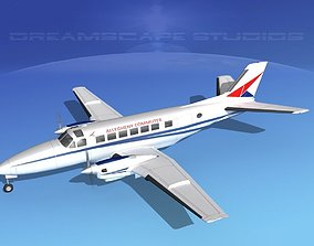3D Beechcraft B99 Allegheny Commuter 1