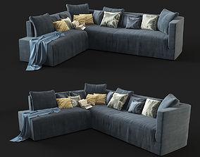 fabric 3D Modern Sofa